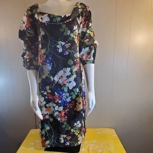 Banana Republic Floral Print Dress